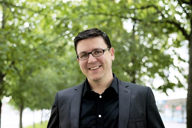Håkan Omars ser fram emot att få arbeta som prefekt i Campus Allegro i Jakobstad.