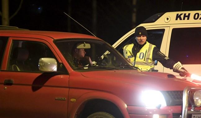 Övervakningen inleddes vid midnatt natten till lördag.