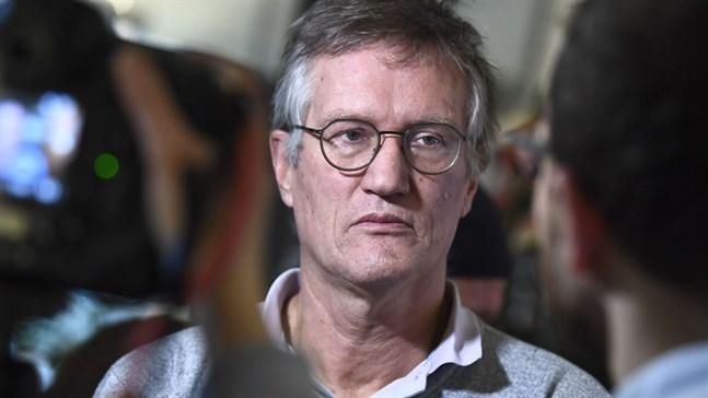 Svenska statsepidemilogen Anders Tegnell.