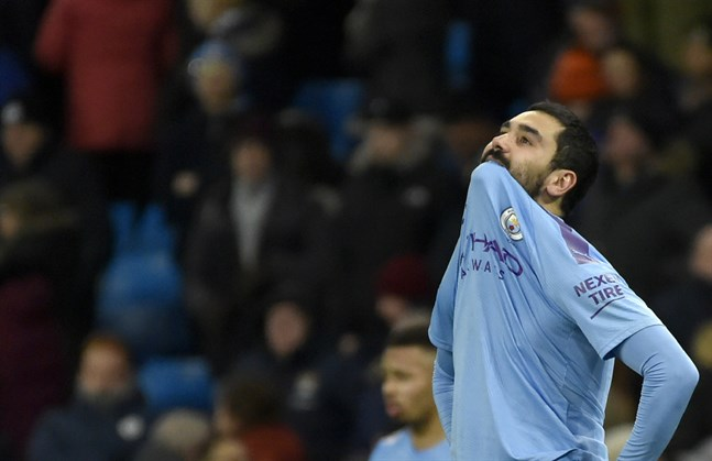 Manchester Citys Ilkay Gündogan.
