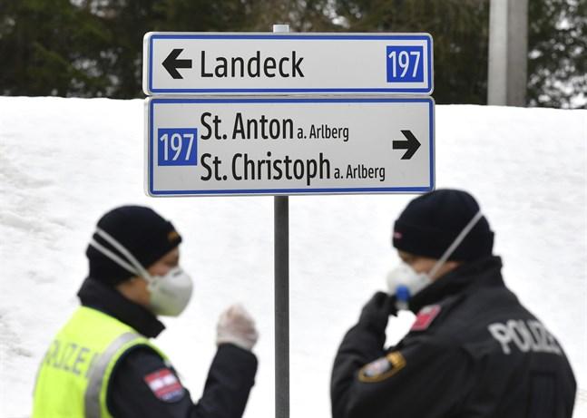 Österrikiska Tyrolen sattes i karantän den 18 januari. Nu granskas myndigheternas senfärdiga agerande mot smittspridningen. Arkivbild.