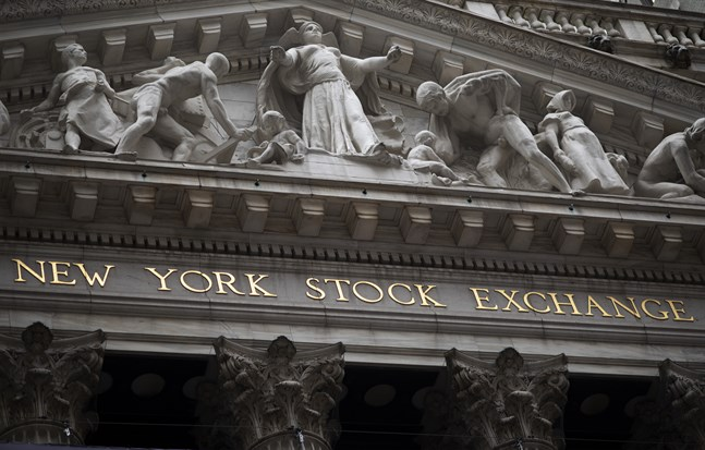 Indexen steg på USA-börserna. Arkivbild.