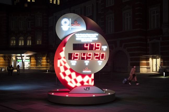 En ny nedräkning har inletts till Tokyo-OS som är uppskjutet till den 23 juli 2021.