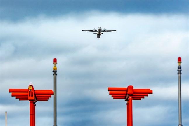 Kronoby flygfält. Arkivfoto.