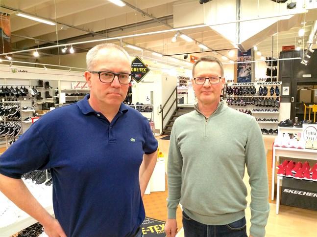 Lasse Pihlaja och Leif Lahtinen hade höga förväntningar på vårhandeln.