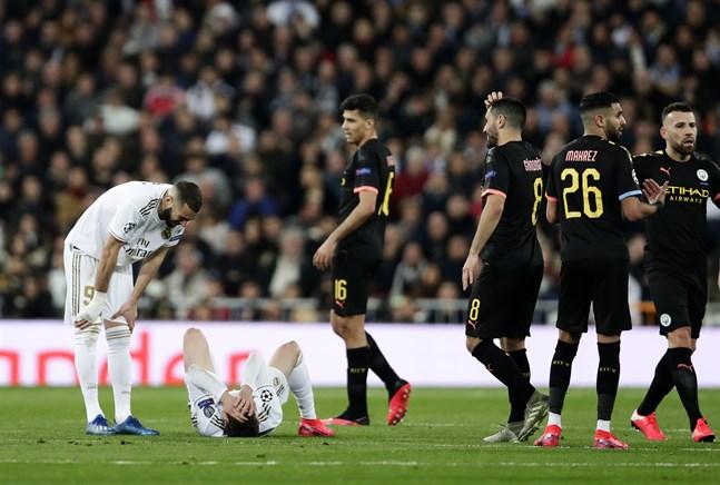 Real Madrid och Manchester City är två av lagen som är kvar i kampen om Champions League-bucklan.