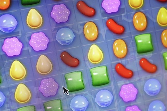 """""""Candy crush"""" är ett av spelen som används för att hjälpa den brittiska regeringen att uppmana folk att stanna hemma. Arkivbild."""