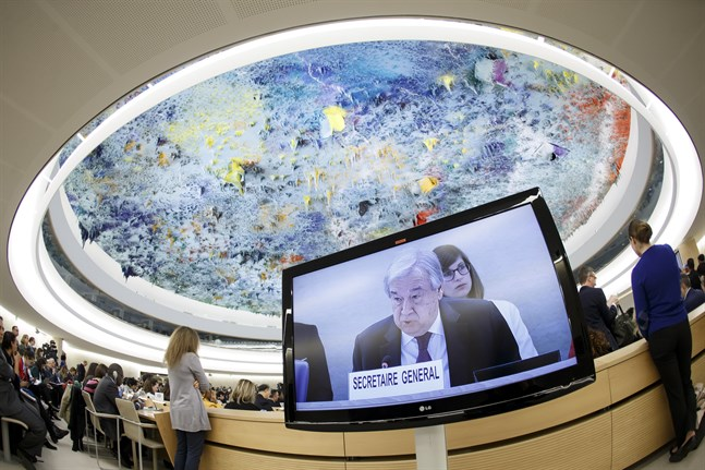 António Guterres vill se fler insatser för att motverka våld i hemmet. Arkivbild.