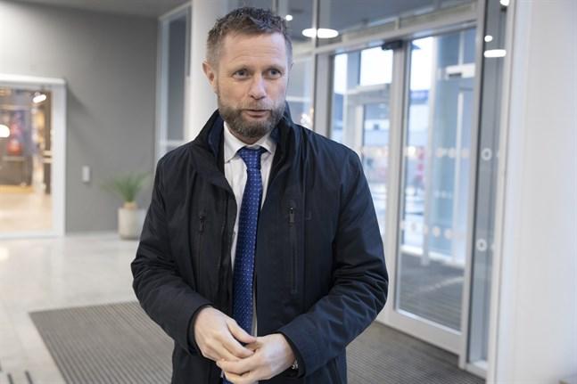 Norges hälsominister Bent Høie meddelar att landet fått kontroll över smittspridningen. Arkivbild.