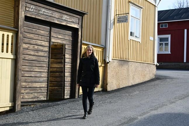Kaisa Mäkinen ska skapa utrymme för instängda Helsingforsbor, bland andra.