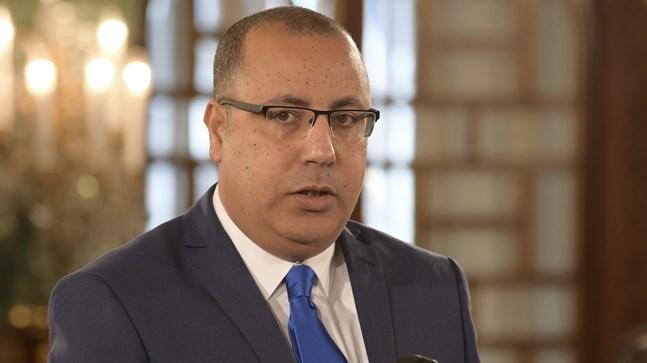Tunisiens inrikesminister Hicham Machichi. Arkivbild.