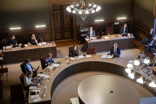 Ramförhandlingar om budgeten i Ständerhuset.