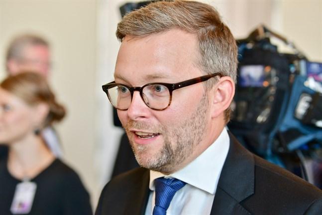 Ålands riksdagsledamot Mats Löfström. Arkivbild.