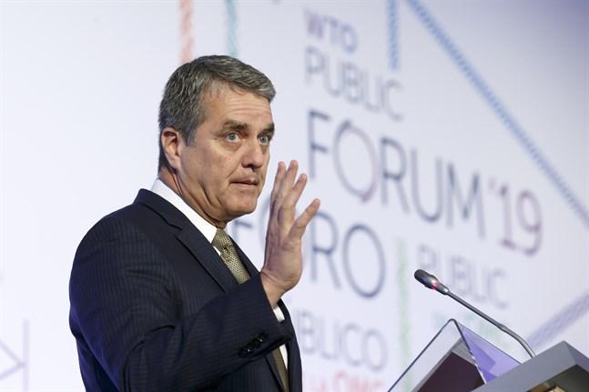 Roberto Azevedo, generaldirektör för WTO. Arkivbild.