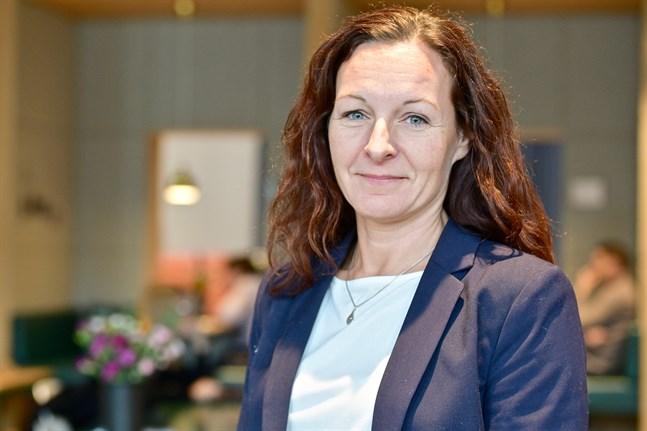 Marina Lindell, forskare vid institutet för samhällsforskning vid Åbo Akademi.