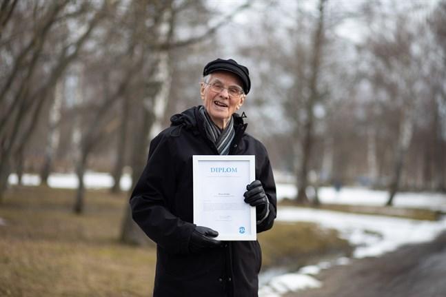 Hans Svahn har utsetts till årets amatörteaterprofil 2019 för hans gedigna intresse för teater.