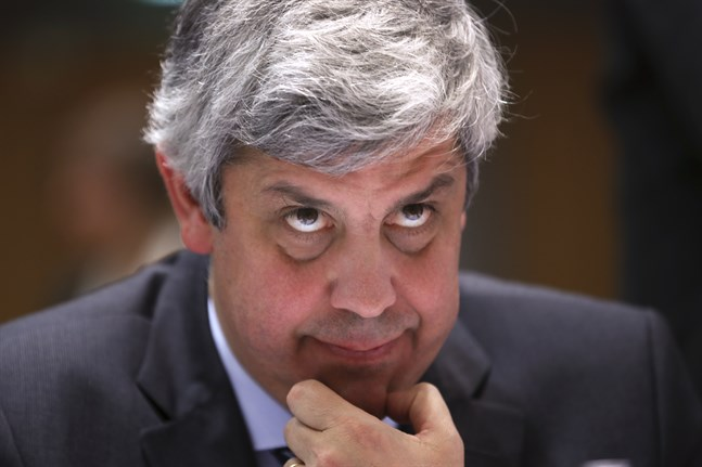 Eurofinansministrarnas mötesordförande Mario Centeno.