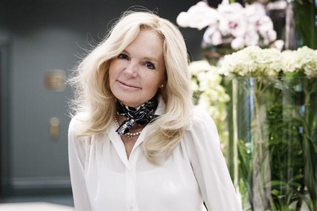 Lucinda Rileys romaner har sålts i 300000 exemplar i Sverige. Pressbild.