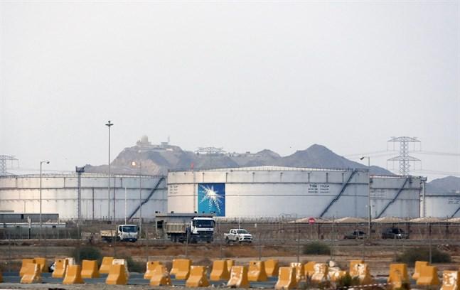 Oljecisterner i Jidda i Saudiarabien. Arkivbild.