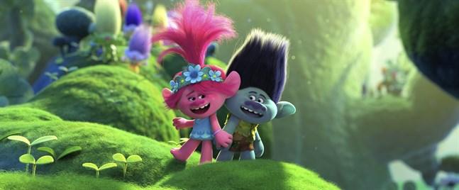 """Filmen """"Trolls2: Världsturnén"""" lockade rekordmånga tittare under sin premiärhelg som digital hyrfilm."""