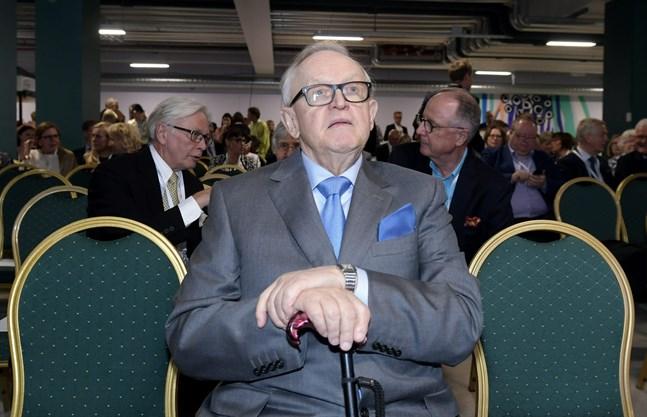 Former Finnish President Martti Ahtisaari.