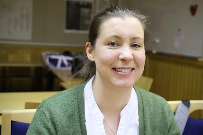 Minna Söderholm är nyvald första viceordförande för kommunstyrelsen i Malax.