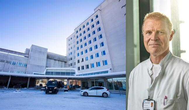 Peter Nieminen har tio års erfarenhet av att leda verksamhet på Vasa centralsjukhus.