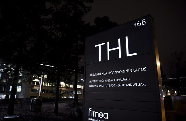 The exterior of THL (National Institute for Health and Welfare).