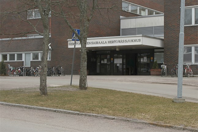 File picture of Herttoniemi Hospital.