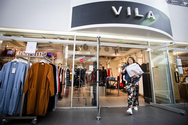 Nedstängningen av klädbutiken Vila kom hastigt.