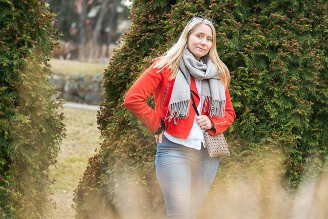 Ida-Marie Jungell hoppas på en varm och solig sommar.