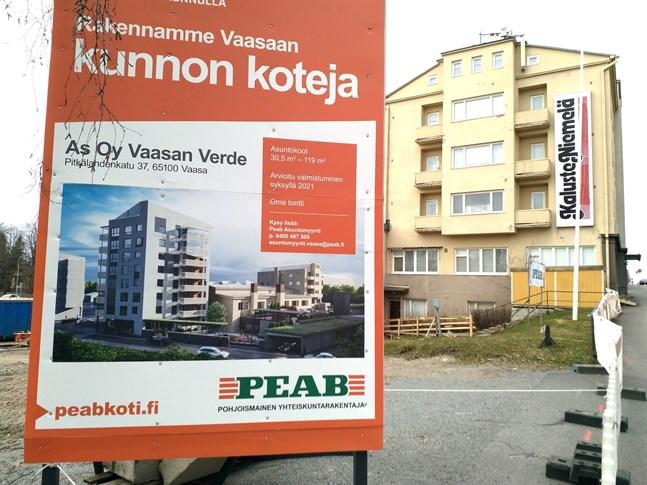 Peab har redan börjat förbereda nybygget i Vöråstan.