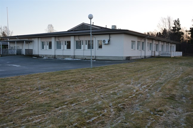 Matsalsbyggnaden vid KKC planeras för att bli ny kommungård i Korsnäs.