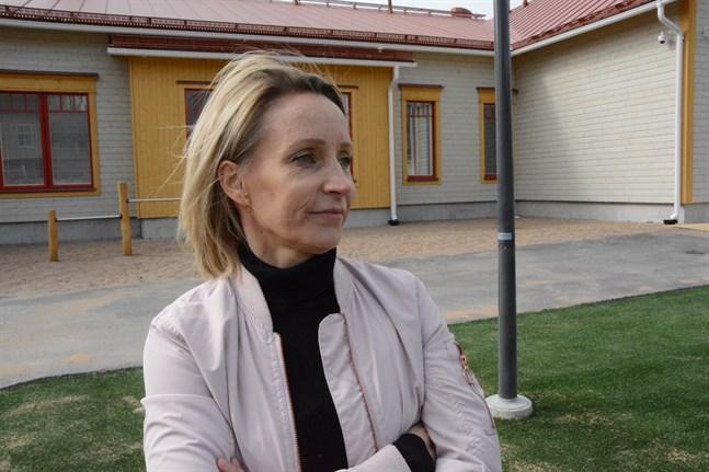 Annika Heikkilä är nöjd med den småbarnspedagogik och förskola som nu finns i Kristinestad.