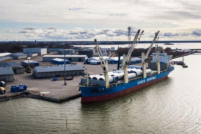 Cirka 75 procent av industrins produktion i Österbotten går på export.