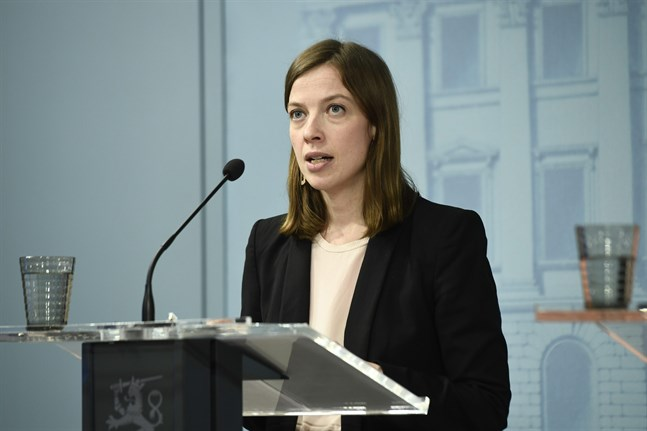 Undervisningsminister Li Andersson.