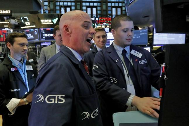 USA-börsen stiger. Arkivbild.