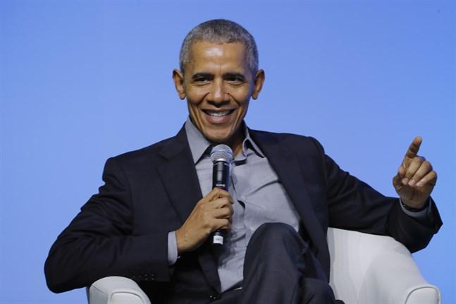 USA:s tidigare president Barack Obama. Arkivbild.