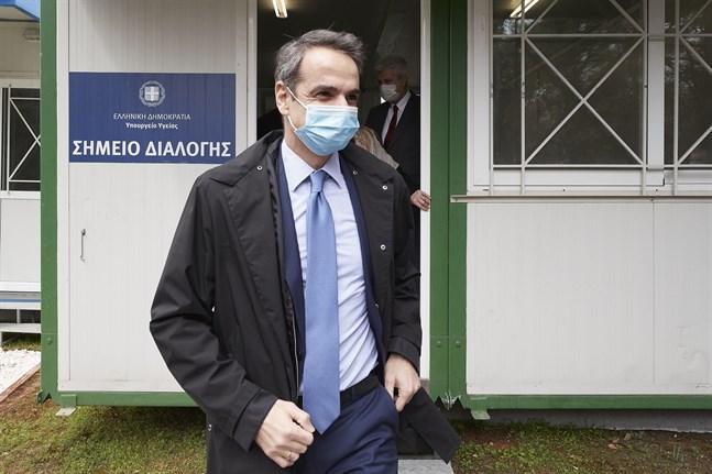 Greklands premiärminister Kyriakos Mitsotakis vill öppna upp landet för turister från länder som lyckats hejda coronaviruset. Arkivbild.