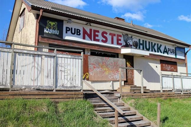 Pub Nestehukka har sett bättre dagar.