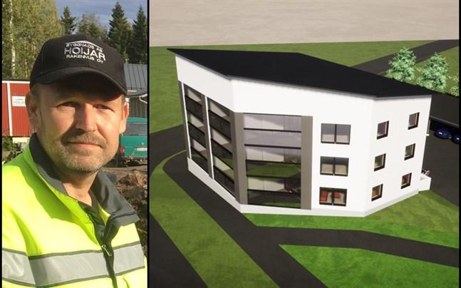 Jan-Mikael Hoijar ser fram emot att ta sig an projektet i Smedsby.