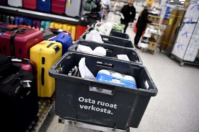 Allt fler finländare handlar på nätet. Också matbeställningar blir allt vanligare.