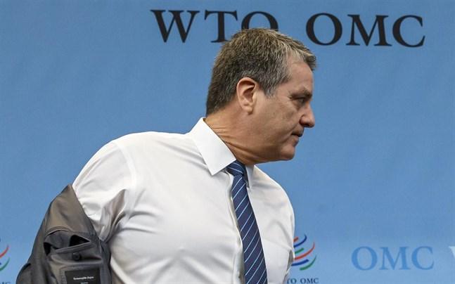 Världshandelsorganisationens generaldirektör Roberto Azevedo avgår i augusti.