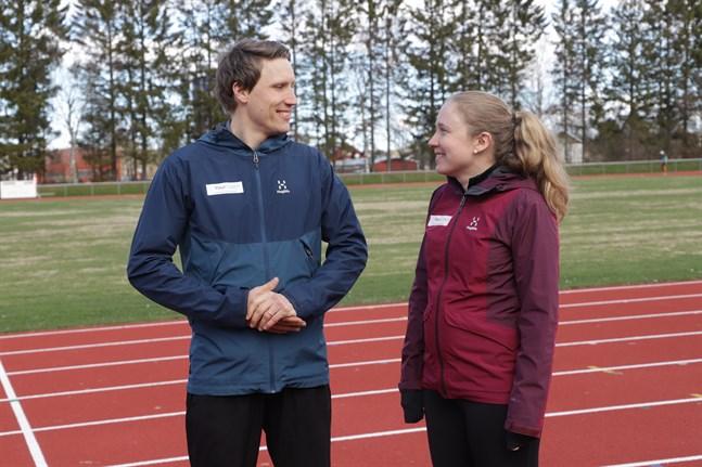 Johan och Anna Nordmyr tipsar om att man inte ska gå ut för hårt när man bestämt sig för att börja med löpning.