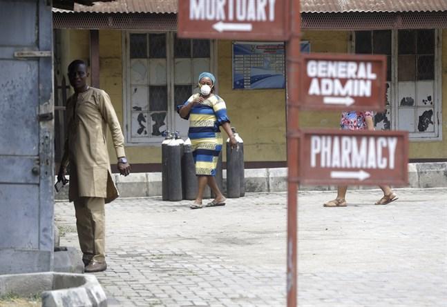 Ett sjukhus i Lagos, Nigeria. Arkivbild.