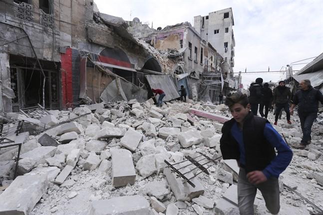 Krig, corona och brist på pengar skapar livsmedelskris i Syrien. Arkivbild.