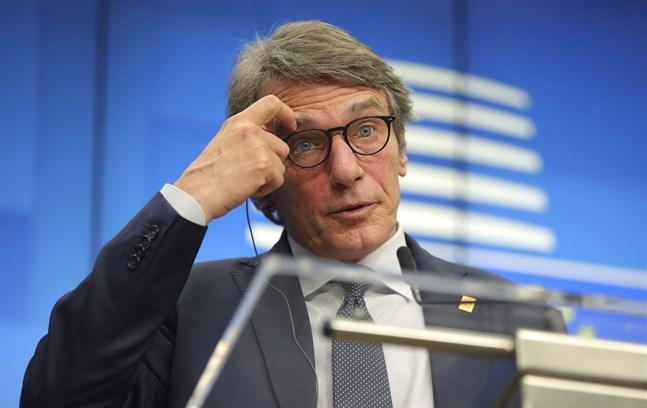 EU-parlamentets talman David Sassoli.