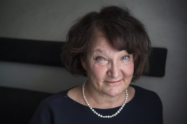 Monika Fagerholm. Arkivbild.