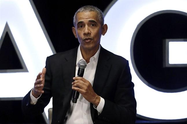 USA:s förre presidenten Barack Obama är kritisk till hur den nuvarande regeringen hanterar coronapandemin. Arkivbild.