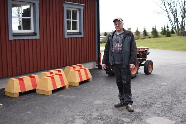 Av sex betongsuggor finns nu blott fem kvar, konstaterar Jan-Erik Frantz.